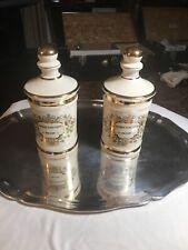 New listing Pair Of Vintage Old Fitzgerald Paul Mason Spirit.Vini Vitis Brandy Bottles