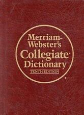 Merriam Webster's Collegiate Dictionary-ExLibrary