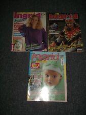 3 Ingrid Strick & Bastelhefte