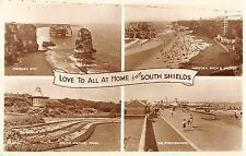 BR101493 love to all at home from south shields valentine k 270  uk