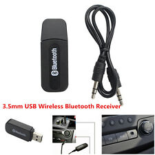 3.5mm Car USB AUX Bluetooth Adaptor Audio Stereo Dongle Music Wireless Receiver