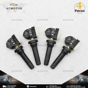 NEW 315MHz SET OF 4 13516164 13598772 TIRE PRESSURE SENSOR TPMS FOR BUICK CHEVY