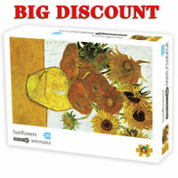 1000Pieces Sunflower Van Gogh  Jigsaw Mini Puzzles  Kids Intelligent Game Toys