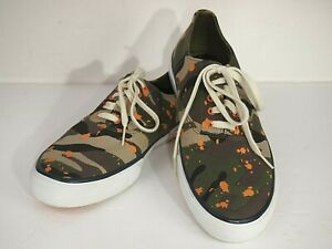 Sperry Topsider Cloud CVO Sneakers in RARE camo design Men's size 9 M.