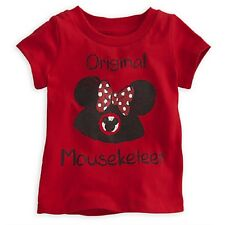 Mickey Mouse Club Tee for Baby - Minnie (Brand New - Disney Baby - 12-18 months)