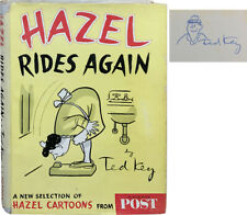 Ted Key / Hazel Rides Again Signed 1st Edition 1955