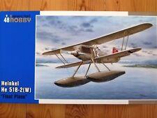 SPECIAL Hobby 1:48 HEINKEL HE 51B-2 (W) IDROVOLANTE AEREO kit modello