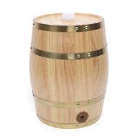 5L Household Pine Wood Wine Barrel Keg Wooden Beer Brewing Equipment Home 5Liter