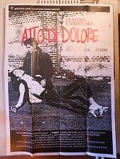Atto di Dolore manifesto poster Squitieri Cardinale dramma madre droga 4FM