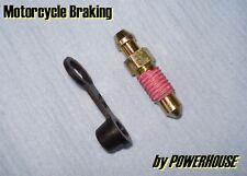 Brake caliper M7x1.00mm easy-bleed screw nipple Suzuki Kawasaki Honda Tokico
