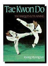 ☆MARTIAL ARTS BOOK;TAE KWON DO-TAEKWONDO:TECHNIQUES%TRAINING KYONG MAURICE LEE☆