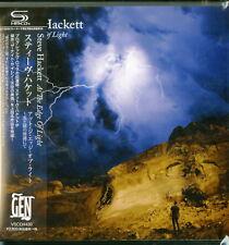 STEVE HACKETT-AT THE EDGE OF LIGHT-JAPAN MINI LP SHM-CD BONUS TRACK G35