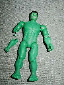 """MEGO Incredible Hulk 1974 -- 7"""" - arm included!"""