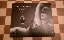 Lady Gaga Fame Perfume Mouse Mat Pad / Dinner Mat Circa 2012 VERY RARE