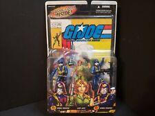HASBRO GI JOE MARVEL 2006 Comic #44 3 Pack Lady Jaye v5 Cobra Troopers v4