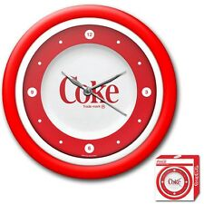 Officially Licensed - Coca-Cola® Neon Wall Clock - Retro Style - Collectible