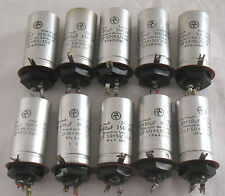New listing 10 vintage High Voltage Capacitor 2x 50µF 385V for Tube Amp tested good