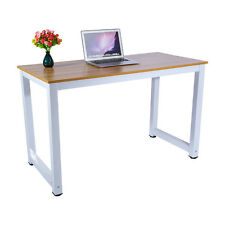 Home Office Desk  Computer PC Writing Table WorkStation Wooden Metal Furniture