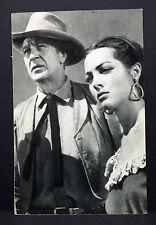 Gary Cooper & Sarita Montiel - Movie Photo - Film Foto Autogramm-AK (Lot-H-3260