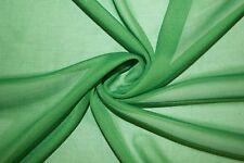 Green Chiffon Knit Sheer 60