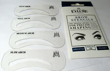 EYLURE Eyebrow Brow Stencils   Pre Shaped Arches For Precise Shaping - Reuseable
