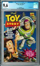 Disney's Toy Story #1 CGC 9.6 (1995, Marvel) Woody & Buzz, Movie Adaptation