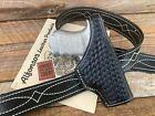 Alfonso's Black Basketweave Leather Lined OWB Holster For Glock 36 19 23 32