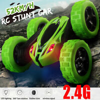 Kids 360° Rotate Stunt Car Model RC 4WD High Speed Remote Control Off-road