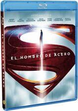El Hombre de Acero (Blu-ray + DVD + Copia Digital, 2013, Set de 3 discos )