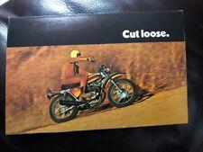 NOS HONDA SL350 KO Original Sales Brochure Enduro AHRMA
