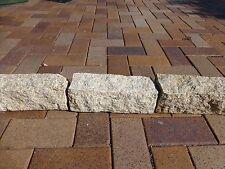Stone  Block Garden Edging  Granite Golden Yellow 300 x 100 x 100mm   $9-50ea