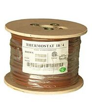 500Ft 18/4 Unshielded CMR Heating Air Conditioning HVAC AC Thermostat Wire Cable