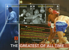 Mongolia 2007 MNH Muhammad Ali Greatest All Time 4v M/S II Boxing Stamps
