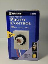 Intermatic K4021C 120-Volt Fixed Position Photo Control