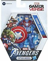 "MARVEL Avengers Captain America Shining Justice 6"" Action Figure - New & Sealed"