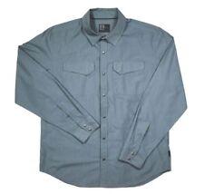 Magpul Mansfield Long Sleeve Shirt Mens L Blue Stone Casual