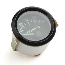 52mm 2Inch 40 - 120 Celsius White LED Car Pointer Water Temperature Temp Gauge