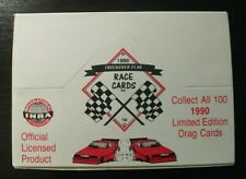 1990 Checkered Flag IHRA Race Cards Limited Edition New Box