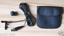 Pro Lavalier Microphones for SHURE Wireless Body pack Lapel Condenser Mic