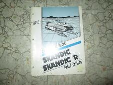 1985 Skandic / Skandic R parts Catalog