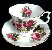 "Vintage Fine BOne China Tea Cup & Saucer ""Royal Albert"" - Made in England"