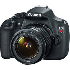 Canon Rebel T5 DSLR 18.0MP Camera w/ EF-S 18-55mm IS II Lens (2 LENSES)