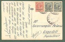 Storia postale Colonie. ERITREA. Cartolina del 15.4.1922 da Asmara per Argostoli