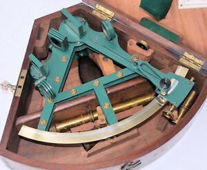 Troughton & Simms double frame sextant.