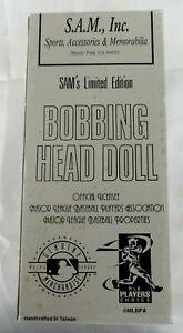 S.A.M. Limited Edition Mark McGwire Bobbing Head Doll new open box #ed 9885