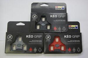 Look Road Keo Grip Cleat (Black / Grey / Red)