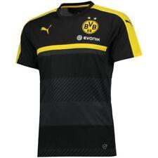 Maillots de football de clubs allemands noir manches courtes
