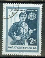 Briefmarken Ungarn 1967 10 Jahre Arbeiterwache Mi.Nr.2314