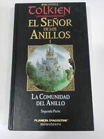 EL SEÑOR DE LOS ANILLOS J.R.R.TOLKIEN LA CUMUNIDAD DEL ANILLO PARTE 2 - LIBRO