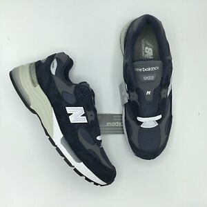 NEW BALANCE 992 M992 M992GG NAVY BLUE GREY MADE IN USA Size 8 - 13 BRAND NEW